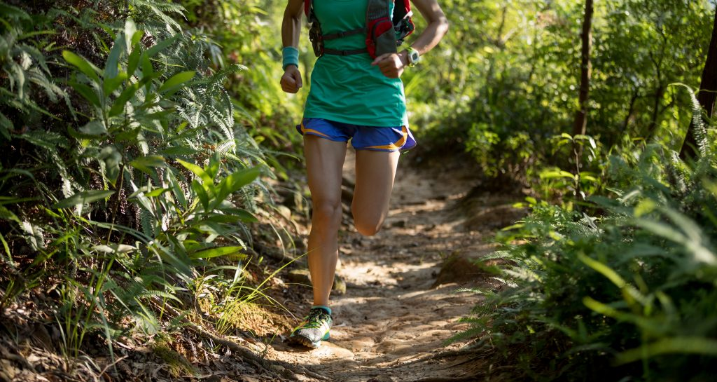 Try your long run on new terrain, like a wooded trail