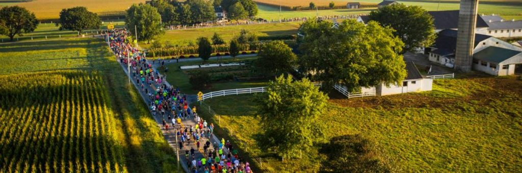 Bird-in-Hand Half Marathon in Pennsylvania