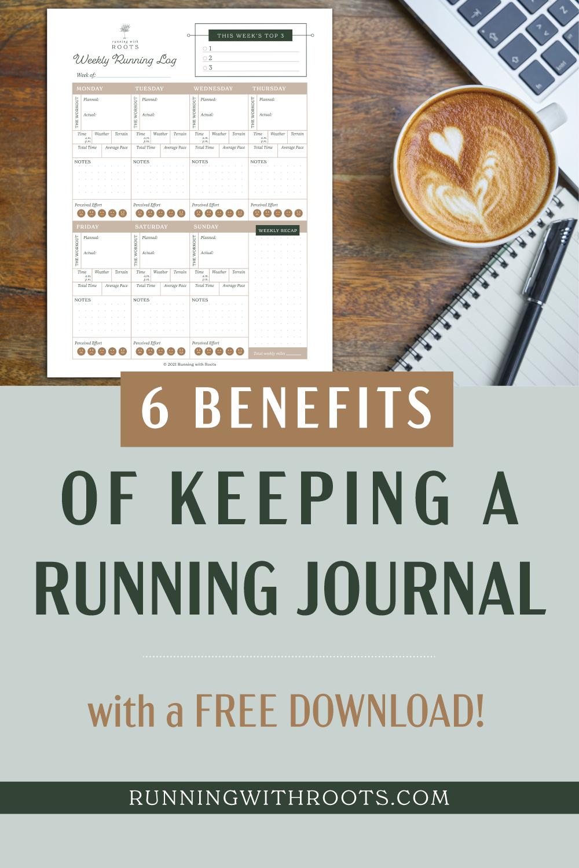 6 benefits of keeping a running journal