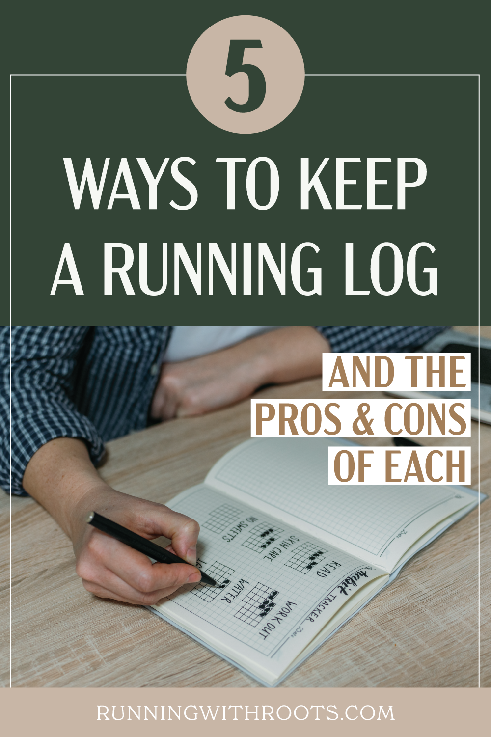 5 ways to keep a running log and the pros and cons of each