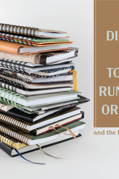 5 different ways to keep and running log or journal and the pros and cons of each