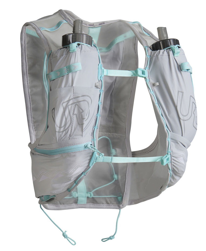 Ultimate Direction Race Vesta - great for carrying water, fuel, and other essentials on a longer trail run