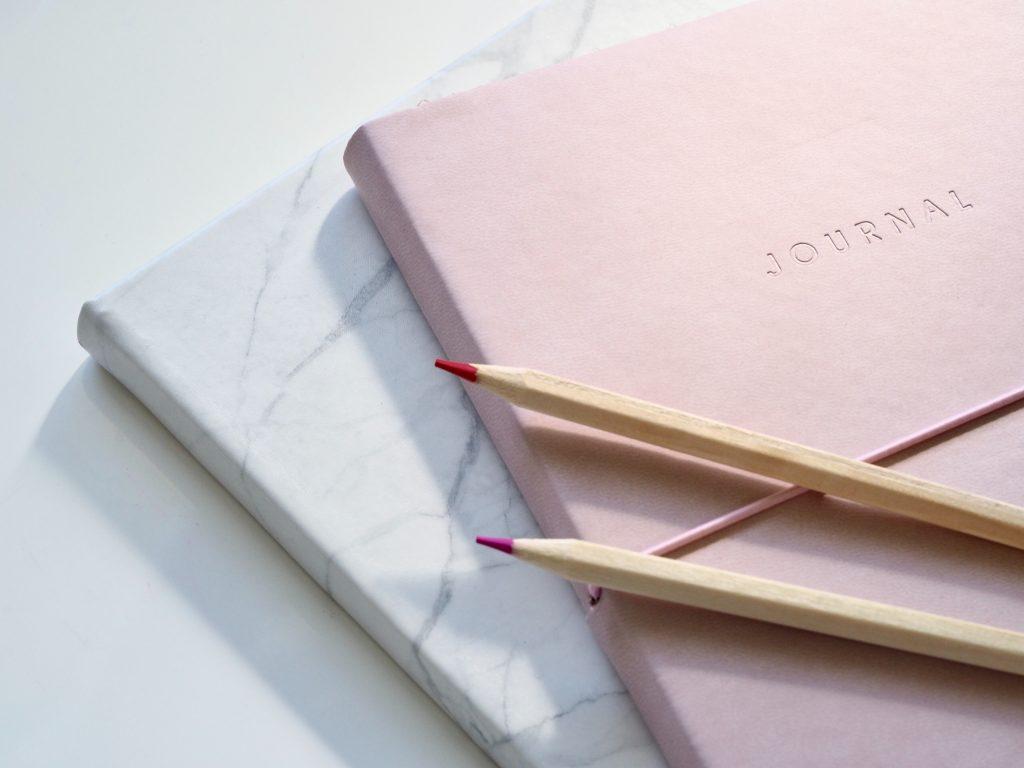Notebook for running journal